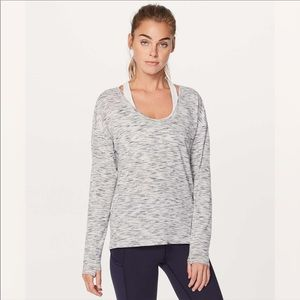 LULULEMON / MEANT TO MOVE LONG SLEEVE TOP